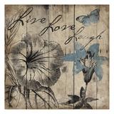 LLL Blue Wood Prints by Jace Grey