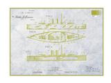 Warship Giclee Print by Armand Brito