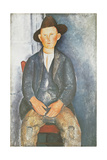 The Little Peasant Giclee Print by Amedeo Modigliani