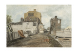 Millbank Giclée-Druck von Cornelius Varley