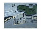 The Hold House Port Mear Square Island Port Mear Beach Giclee Print by Alfred Wallis
