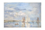 The White Yacht Giclee Print by Philip Wilson Steer