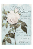 Flower Forever Posters by Jace Grey
