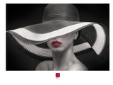 Red Lips 2 Giclee Print by Armand Brito