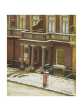 Snow in Pimlico Giclee Print by Charles Ginner