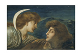 The Moon and Sleep Giclee Print by Simeon Solomon