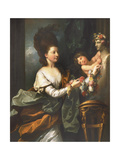 Lady Beauchamp-Proctor Giclee Print by Benjamin West