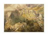 Ronda, Spain Giclee Print by David Roberts