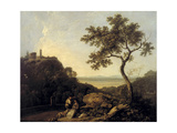 Tivoli; Temple of the Sibyl and the Campagna Giclee Print by Richard Wilson