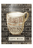 Caffe Mocha Prints by  OnRei