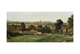 Kew Gardens from Richmond Hill Giclee Print by Richard H. Hilditch