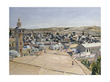 Jerusalem, Looking to Mount Scopus Giclee Print by David Bomberg