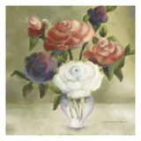 April Bouquet Prints by Lorraine Rossi