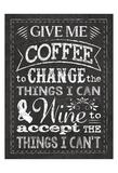 Chalkboard Wine Prints by Melody Hogan
