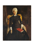 An Old Lady Giclee Print by Augustus Edwin John