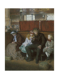 Philip in Church Giclee Print by Frederick Walker