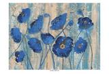 Blue Poppy Rains Prints by Smith Haynes