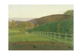 Landscape at Wotton, Surrey: Autumn Giclee Print by George Price Boyce