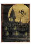 Haunted House Prints by Jace Grey
