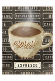 Espresso Posters by  OnRei