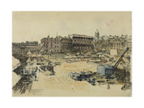 Whitehall Palace and Banqueting Hall Giclee Print by Lord Methuen