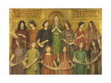 Alleluia Giclee Print by Thomas Cooper Gotch