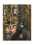 Mexican Church Impression giclée par Edward Burra