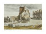 Canonbury House, Islington Giclee Print by Cornelius Varley