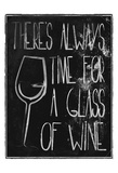 Time For Wine Prints by Jace Grey