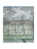 Paul Nash - The Orchard Digitálně vytištěná reprodukce