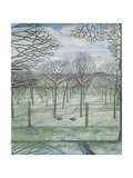 The Orchard Giclée-Druck von Paul Nash