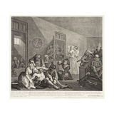 A Rake's Progress (Plate 8) Giclee Print by William Hogarth