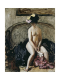 Seated Nude: The Black Hat Giclee Print by Philip Wilson Steer