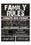 Family Rules A Prints by Sheldon Lewis
