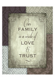 Family Trust Poster by Melody Hogan