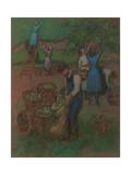 Apple Picking Giclee Print by Julio González