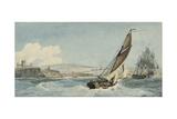 Whitby Giclee Print by John Thomas Serres