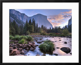Early Sunrise, Yosemite, California, USA Framed Photographic Print by Tom Norring