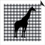 Giraffe1 Posters by Linda Woods