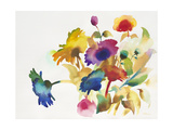 Rainbow Bouquet 5 Print by Paulo Romero