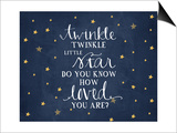 Twinkle Little Star Posters by Amy Cummings