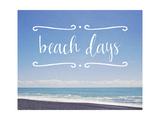 Beach Days Art by Susannah Tucker