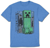 Youth: Minecraft- VintageCreeper Shirt
