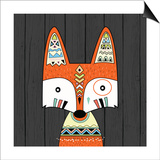 Tribal Fox Prints by Tamara Robinson