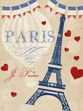 Violet's Paris 4 Wood Print by Violet Leclaire
