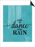 Dance in the Rain Prints by Amy Cummings