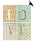 Shabby Chic Love Posters by Tara Moss
