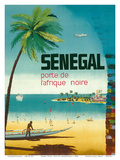 Senegal, Africa - Porte de L'Afrique Noire (Gateway to Sub-Saharan Africa) Print by  Pacifica Island Art