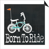 Banana Bike - Born to Ride Prints by Shanni Welch