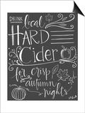 Hard Cider Posters af Katie Doucette